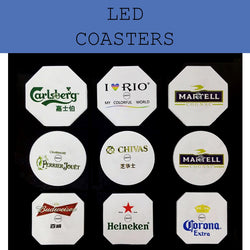 led coaster corporate gifts door gift