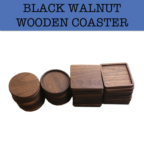 wood wooden coaster corporate gifts door gift wedding gift