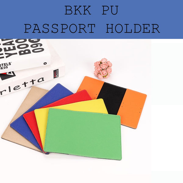 bangkok PU leather passport holder corporate gifts door gift