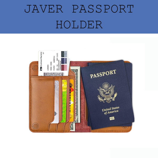 javer genuine leather passport holder corporate gifts door gift
