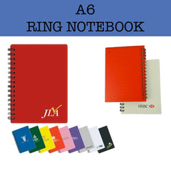 A6 Ring Notebook