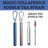 bubble tea straw collapsible corporate gifts door gift