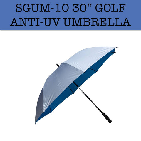 "30"" golf umbrella anti uv corporate gifts door gift"