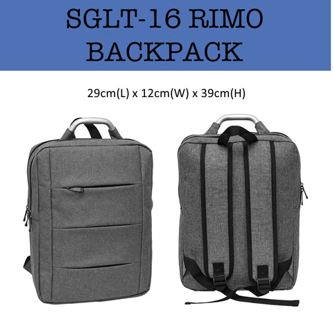 rimo laptop backpack bag corporate gifts door gift