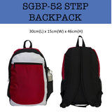 step backpack laptop bag corporate gifts door gift