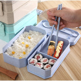 eco wheat lunch box cutlery corporate gifts door gift