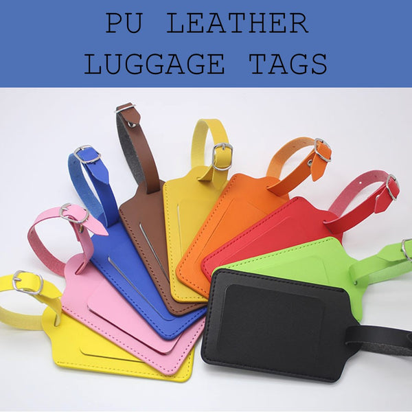 pu luggage tag corporate gifts door gift