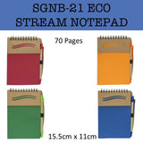 eco friendly stream notepad notebook corporate gifts door gift