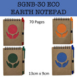 eco friendly earth notepad notebook corporate gifts door gift