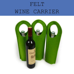 felt wine carrier corporate gifts door gift