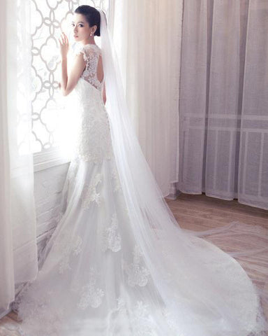 The Bailey One Tier Classic Cathedral Veil