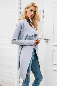 Elastic Knitted Cardigan - i-stylish mall