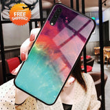 iStylishmall - Tempered Glass Phone Case For Samsung Galaxy  S8 S9  S10 Plus Note 9 8 (Worldwide FREE SHIPPING)
