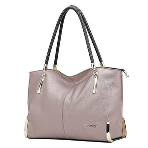 Genuine Cow Leather Luxury Handbags - i-stylish mall