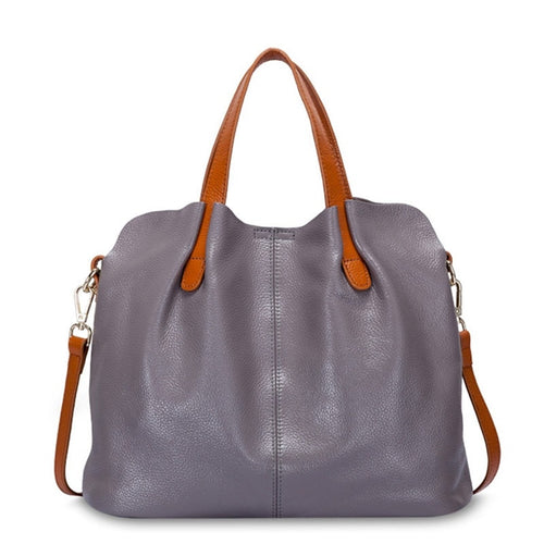 100% Genuine Leather Shoulder Handbags - i-stylish mall
