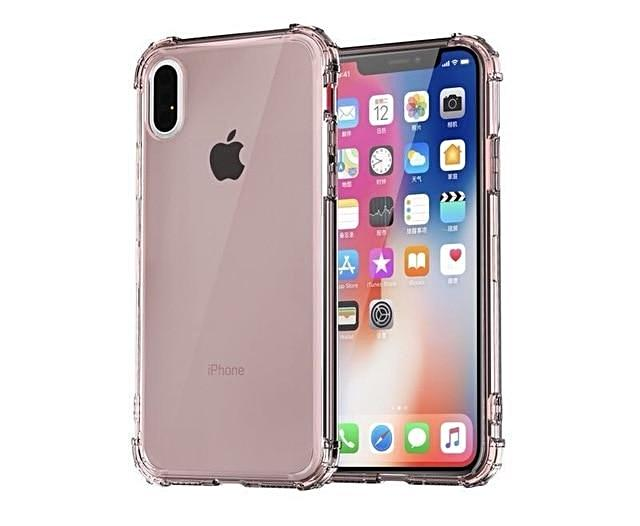 reputable site 910e2 07166 Luxury Shockproof Bumper Transparent Silicone Phone Case For iPhone X XS XR  XS Max 8 7 6 6S Plus