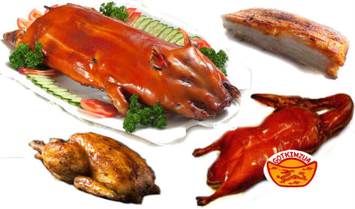 Add-On Premium Meat: Roast Pig, Roast Duck, Roast Chicken