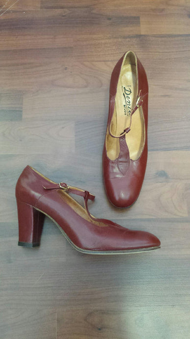 Vintage Genuine Leather Shoes