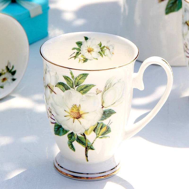 Blooming Floral Coffee Tea Mug