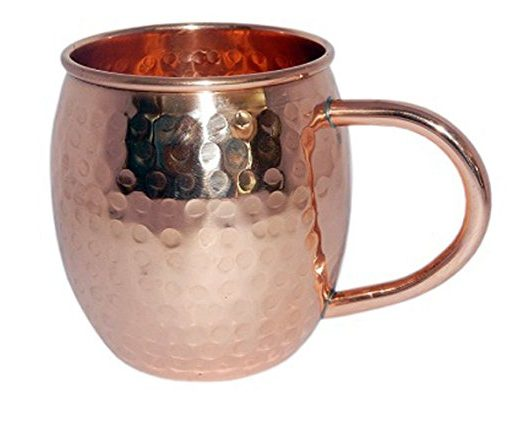 Hand Hammered Copper Mule Mug