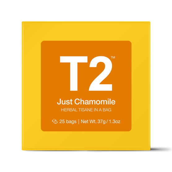 Just Chamomile Teabag 25PK Gift Cube