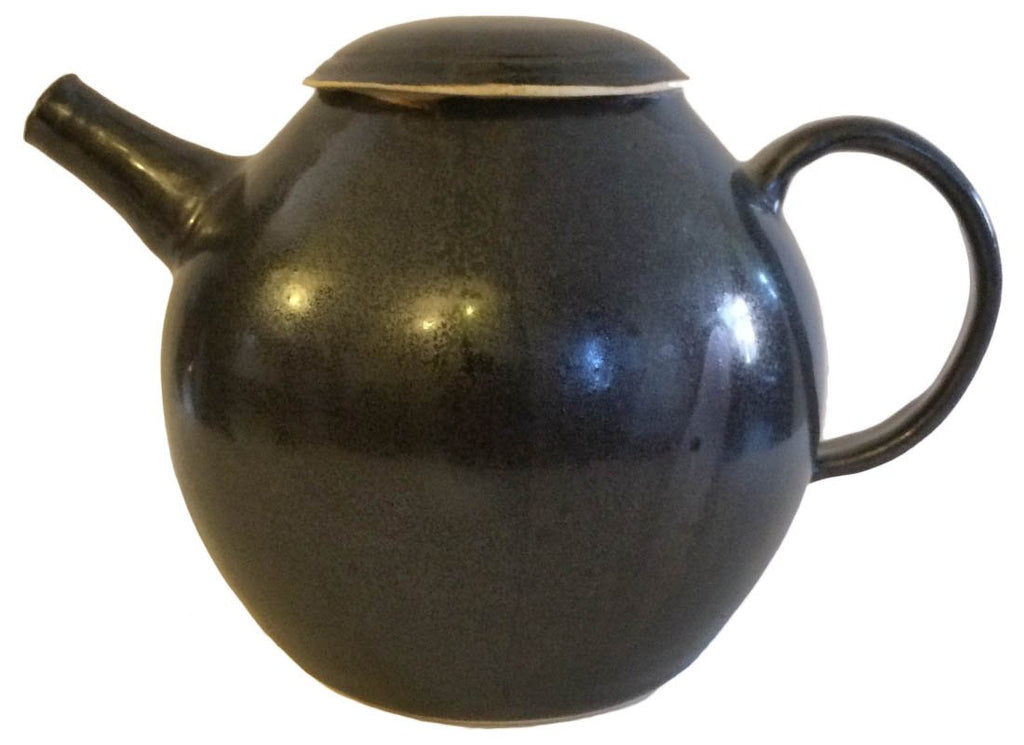 Vintage Round Shape Ceramic Kettle