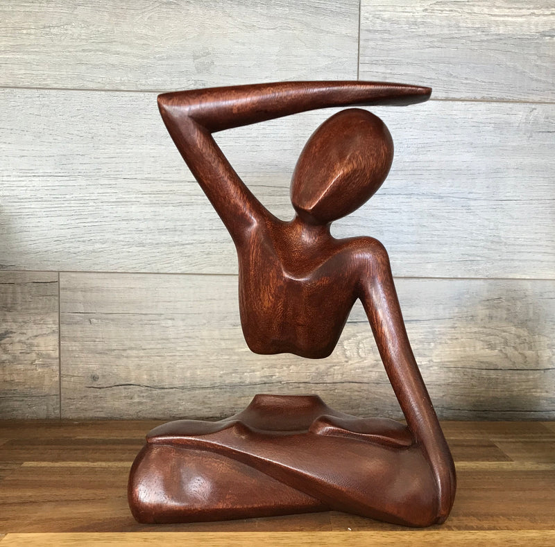 Single Wood Sculpted Yoga Arc