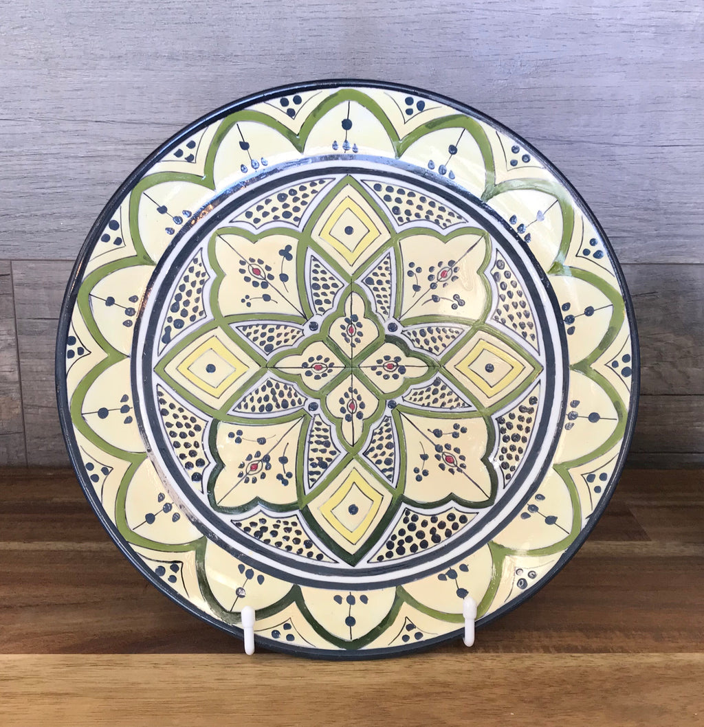 Handmade Moroccan Wall Decor Plate