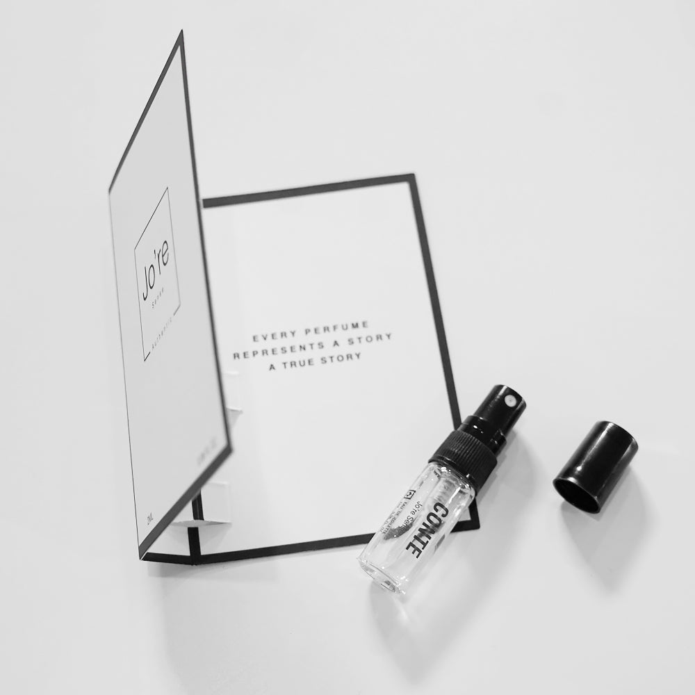 Jo're Sense Conte EDT Perfume Vial with Card
