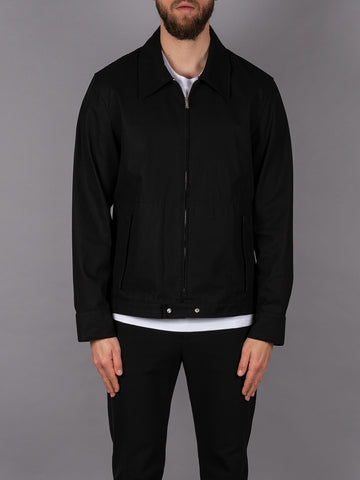 Helmut Lang Jacket Jacke Zippjacke Zip Jacket black schwarz Men Herren