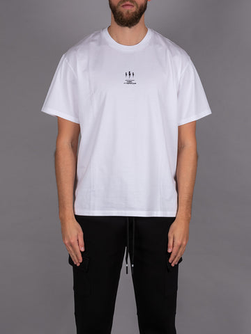 Neil Barrett T-Shirt white weiß Men