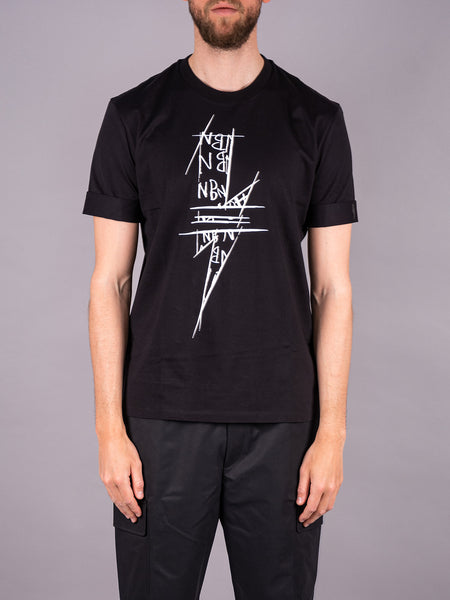 Neil Barrett T-Shirt black schwarz Men