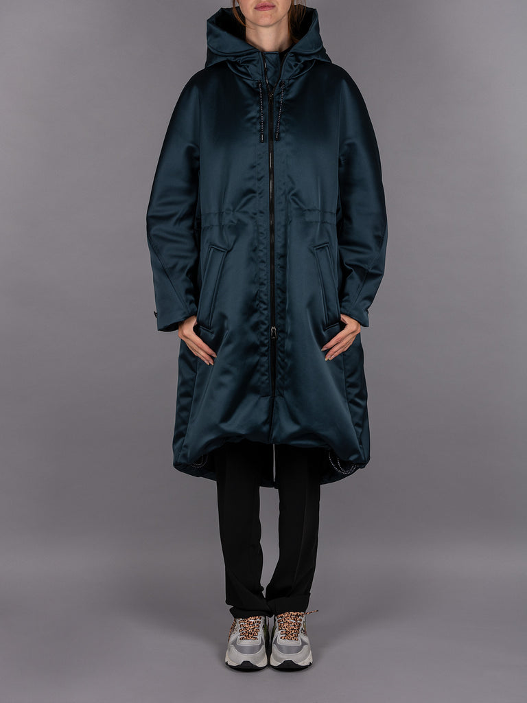 Ahirain Jacke Jacket Coat Mantel Petrol Women