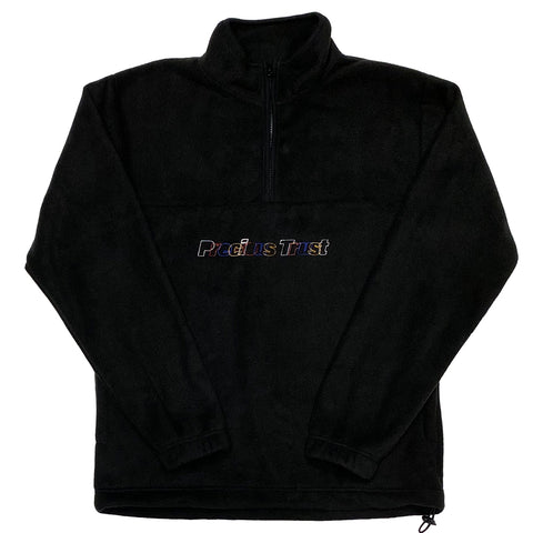 Black Fleece Half Zip