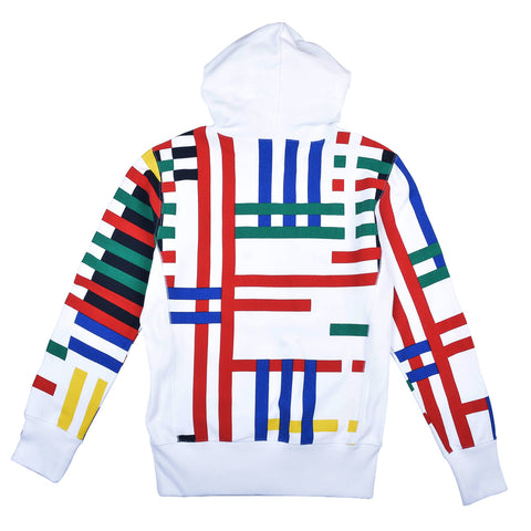 Champion Hooded Sweatshirt Multi Stripes