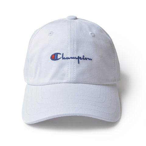 Champion Logo Cap White