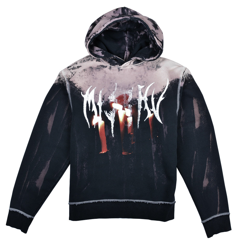 Destroyed Graphic Military Hoodie