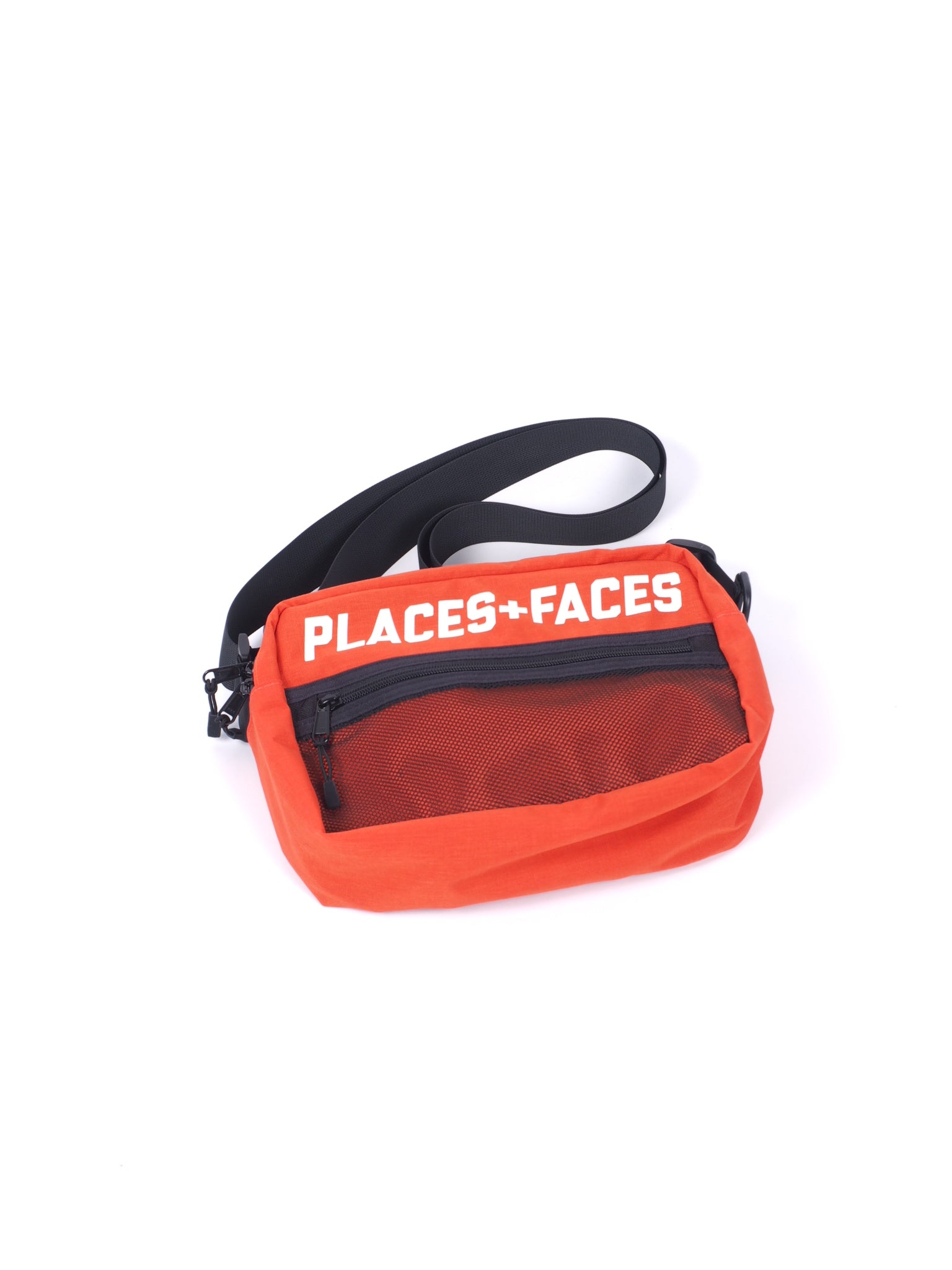 Red Logo Pouch Bag
