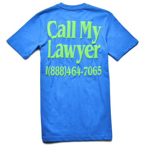 Call My Lawyer Blue T-Shirt