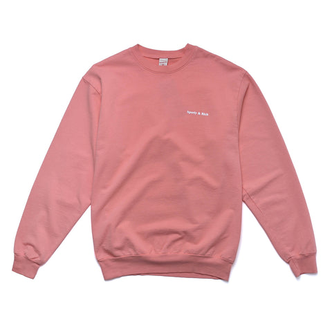 Fun Logo Sweatshirt Salmon