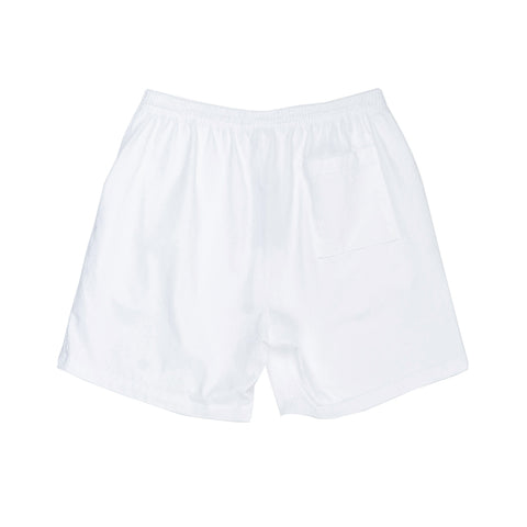 Runner Logo Gym Short White