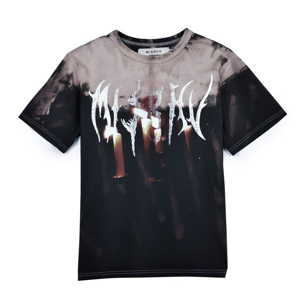 Destroyed Graphic Military Tshirt