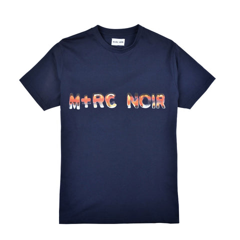 M+RC Fire Tshirt Navy