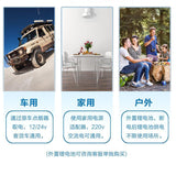 CL22  Car Refrigerator, 12v Thermoelectric Cooler Camping Fridge Freezer DC Work with -20℃
