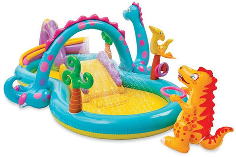 Intex 57135 Dinoland Play Center - Multicolor swimming pool - edragonmall.com