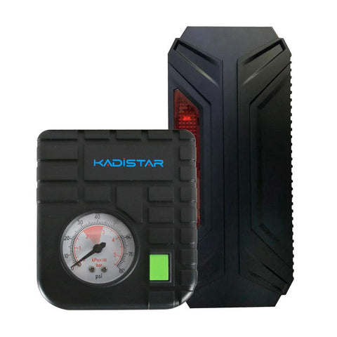 KADISTAR T3+Air Compressor with Auto Car Jump Starter
