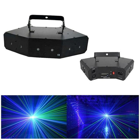 TVS-15V-15F R&G Remote Christmas Laser Projector Stage Light Garden Landscape Lamp