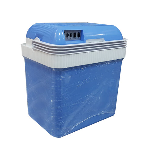 24L Car Refrigerator 12V Mini Fridge Mini Refrigerator Mini Car Cooler and Warmer Cooler Refrigerator for Camping - edragonmall.com