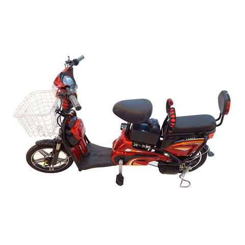 MKL-P1 motorcycle Electric bicycle E-bike-RED - edragonmall.com