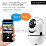 1080P WiFi IP Camera Wireless Baby Monitor HD Audio Camera Automatic  Tracking Detector Night Vision-TV-288ZD
